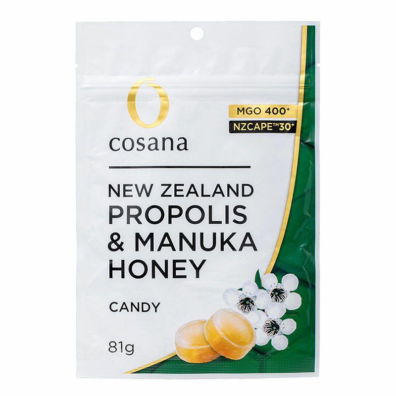 ニュージーランド産 プロポリス入りマヌカハニー MGO400+ キャンディ